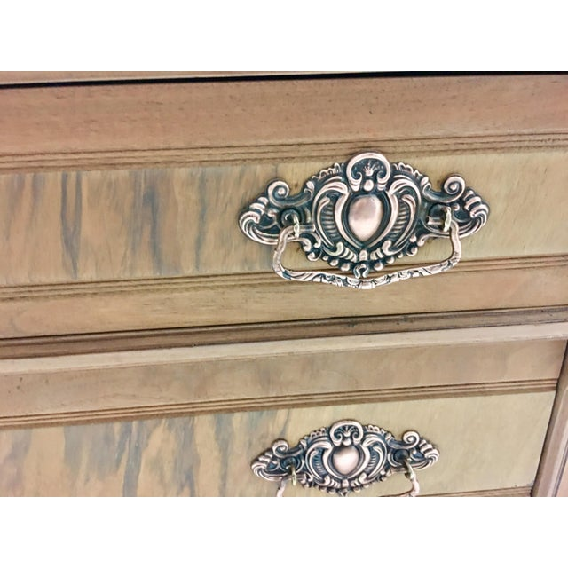 Traditional 19th C. Mahogany & Marble Chest For Sale - Image 3 of 11