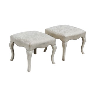 Ottomans by Sherrill - Pair For Sale