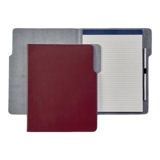 Hugo Folder, Bonded Leather in Red For Sale