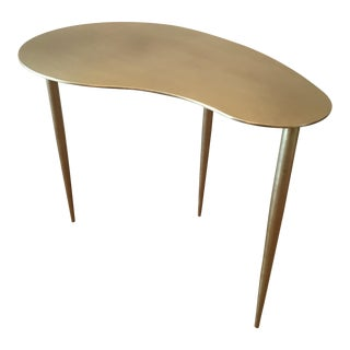 Large Noir Rana Kidney Side Table