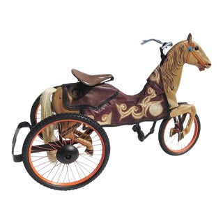 Adult Size, Carnival Horse Racing Bike For Sale