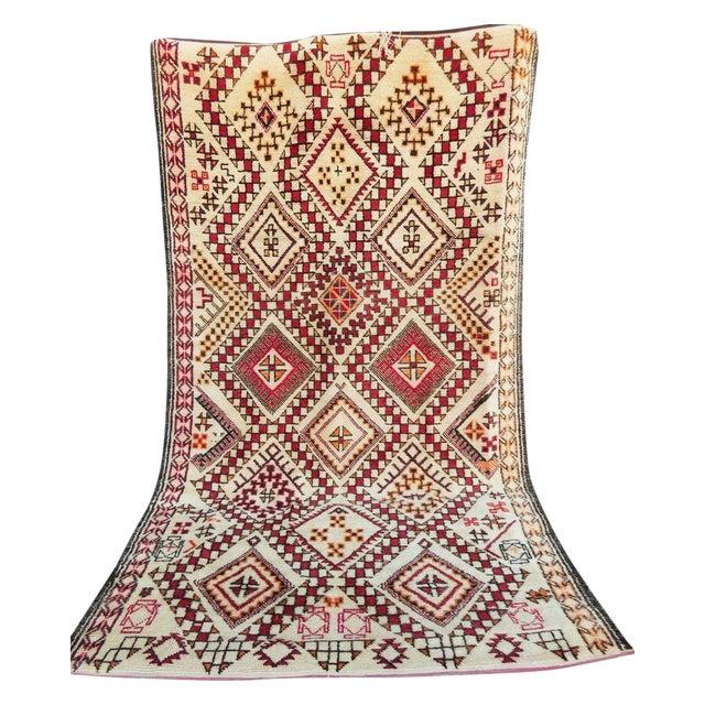 Moroccan Beni Ourain Rug - 5′7″ × 9′10″ - Image 1 of 3