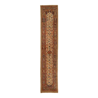 Antique Persian Runner Rug Malayer Design For Sale