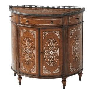 Louis XVI Demi Lune Cabinet For Sale