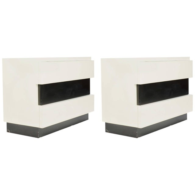 Dan Johnson for Hayden Hall Chest of Drawers - a Pair For Sale