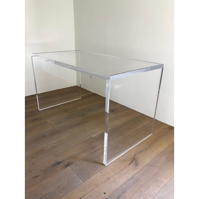 tables writing furniture desk desks x id at for large with f sale drawers lucite