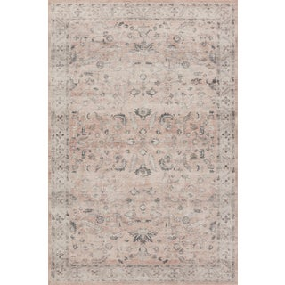 """Loloi Rugs Hathaway Blush/Multi 2'-0"""" x 5'-0"""" Area Rug For Sale"""