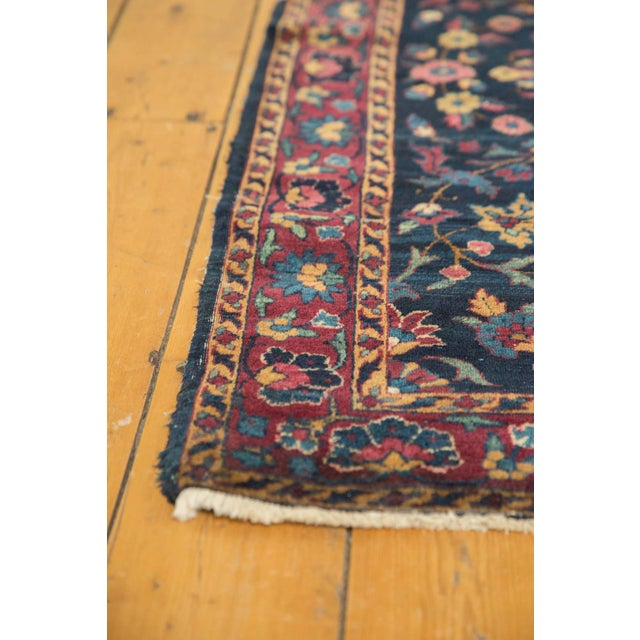 "Vintage Yezd Rug - 2'11"" X 4'10"" For Sale - Image 10 of 11"