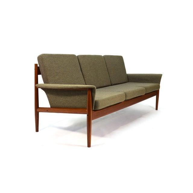 Grete Jalk Sculpted Teak Sofa - Image 2 of 6