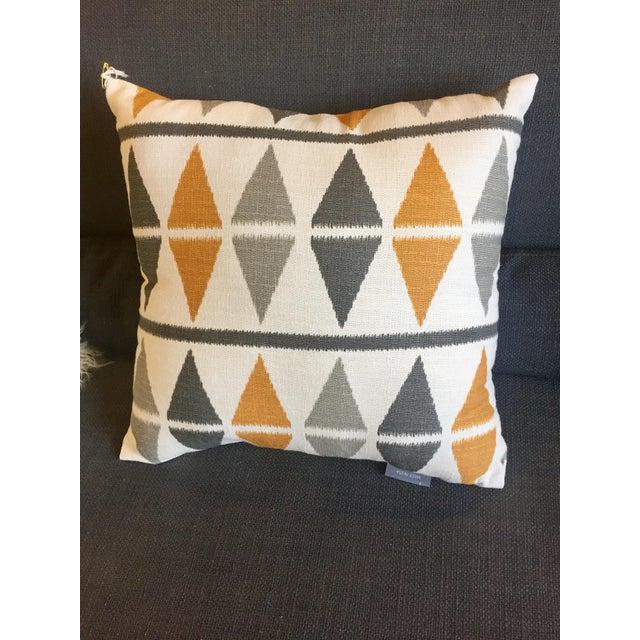Mid Century Style Pillows : Mid-Century Style Argyle Pillow Chairish