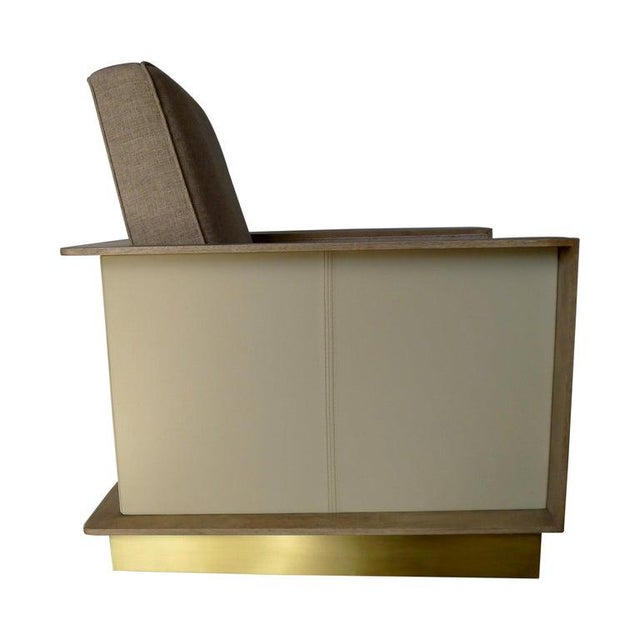 Max Modern Club Chair by Paul Marra For Sale - Image 12 of 12