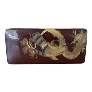 19th Century Japanese Lacquer Writing Box For Sale