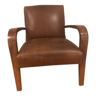 Vintage Pottery Barn Club Chair For Sale