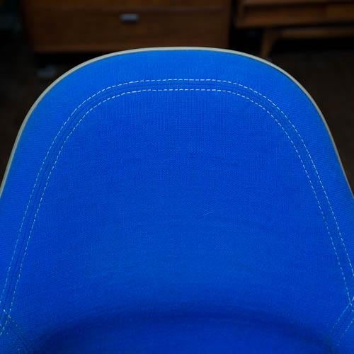 Blue Charles Eames for Herman Miller EC-178 Shell Chair For Sale - Image 8 of 10