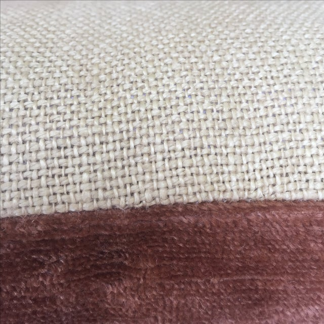 Fortuny Textile Pillows - A Pair - Image 4 of 5