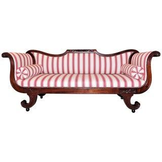 Classical Sofa, Mid-Atlantic, circa 1810 For Sale