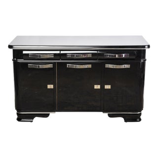 Belgian Art Deco Sideboard From Mons For Sale