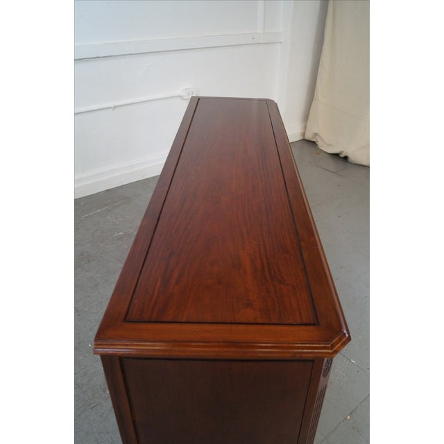 Solid Mahogany Chippendale Georgian Court Dresser For Sale - Image 10 of 10