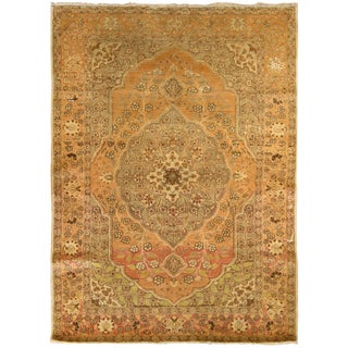 Vintage Persian Tabriz Rug For Sale