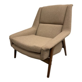 Folke Ohlsson for Dux Mid-Century Lounge Chair For Sale