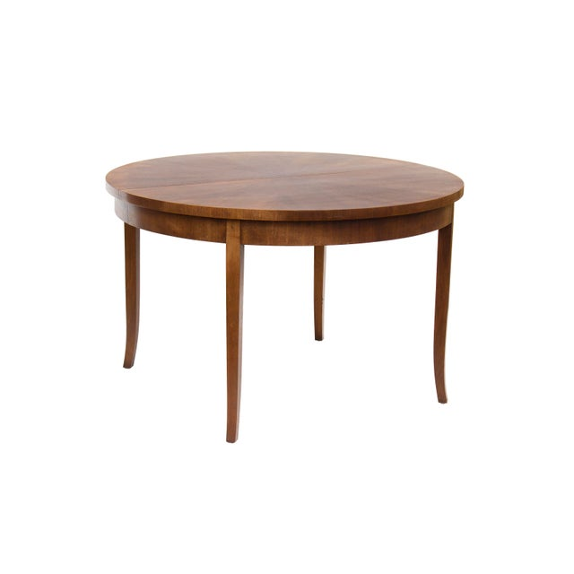 Round Dining Table by t.h. Robsjohn-Gibbings for Widdicomb, Model 4322 For Sale - Image 12 of 12