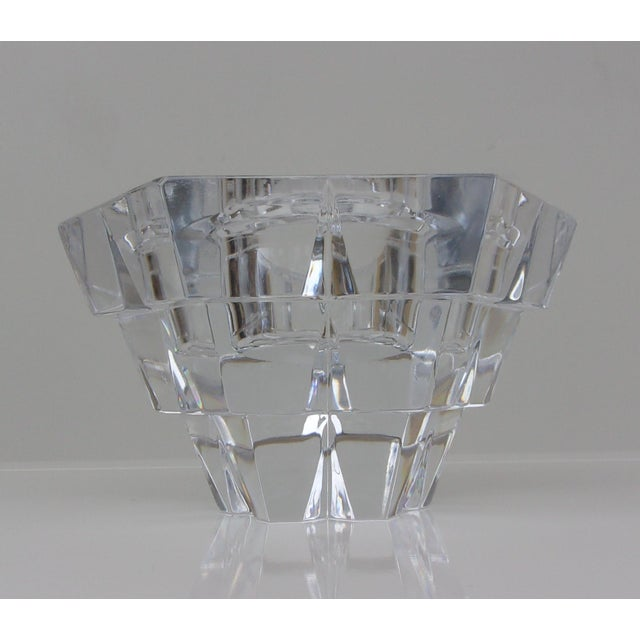 Vintage Crystal Candle Holders - Set of 3 For Sale - Image 7 of 8