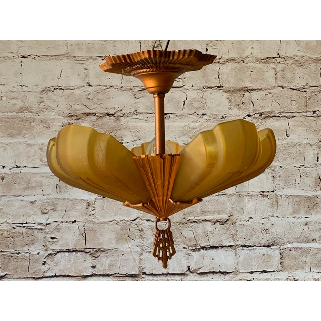 """Lovely short ceiling version of the """"Rayburn"""" line of fixtures. Check other pages for the matching sconces! 17"""" wide by..."""
