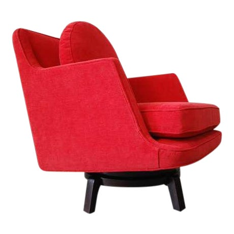 Dunbar Swivel Chair Designed by Edward Wormley For Sale