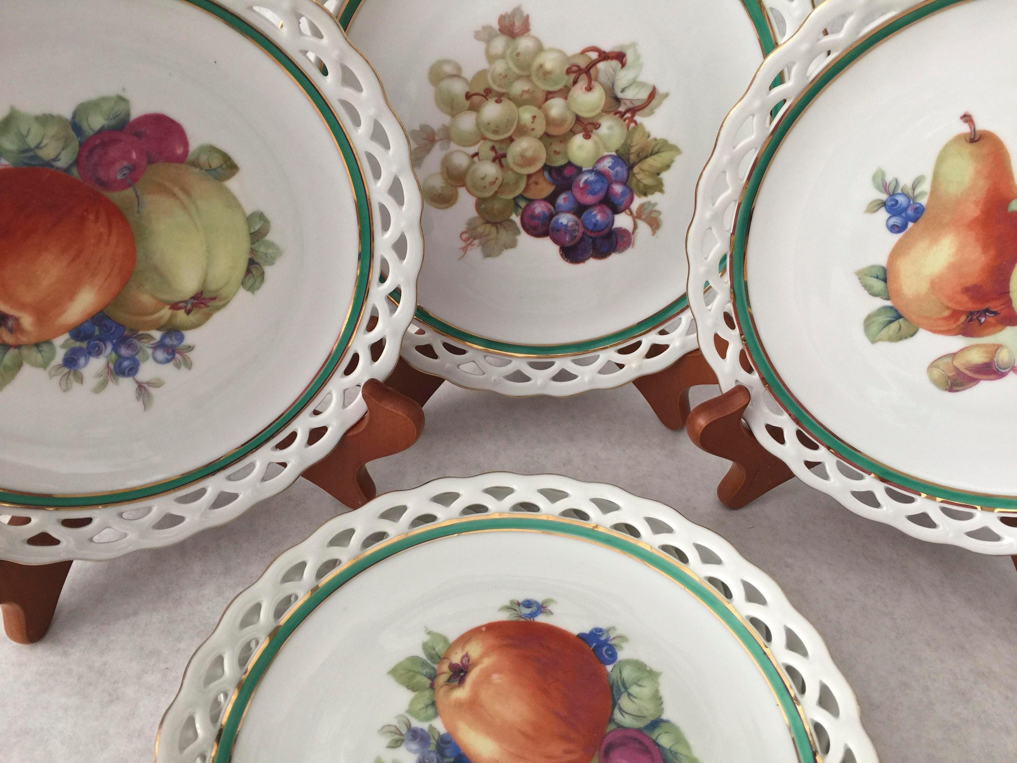 Vintage Winterling Bavaria Lace Dessert Plates - Set of 6 - Image 7 of 10  sc 1 st  Chairish & Vintage Winterling Bavaria Lace Dessert Plates - Set of 6 | Chairish