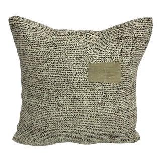 Vintage Turkish Kilim Decorative Pillow For Sale