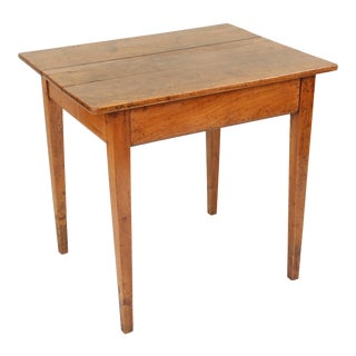 19th Century Neoclassical Fruit Wood Occasional Table For Sale