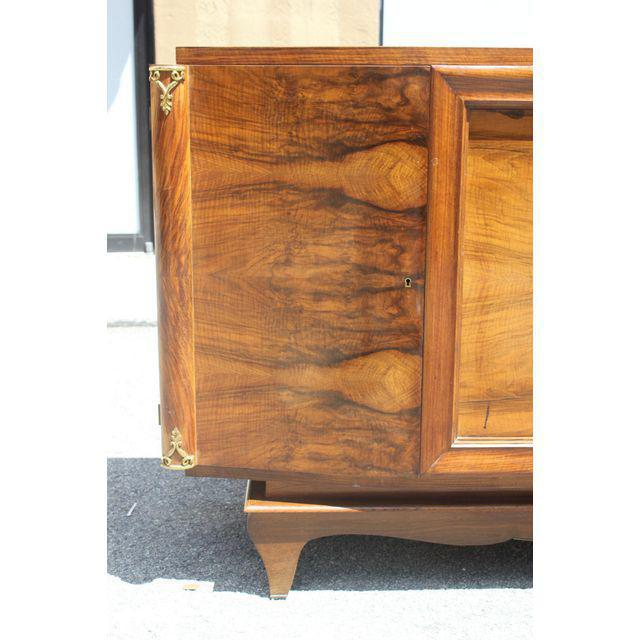 French Art Deco Exotic Walnut Sideboard / Buffet Circa 1940s. - Image 2 of 10