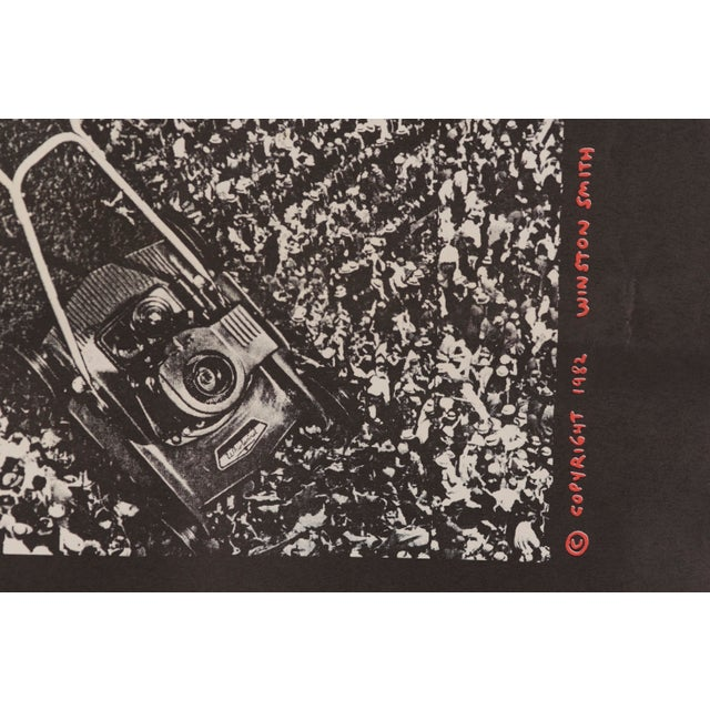 """1982 Dead Kennedys """"The Sound of Hell Too Close to Home"""" Promotional Poster For Sale - Image 9 of 11"""