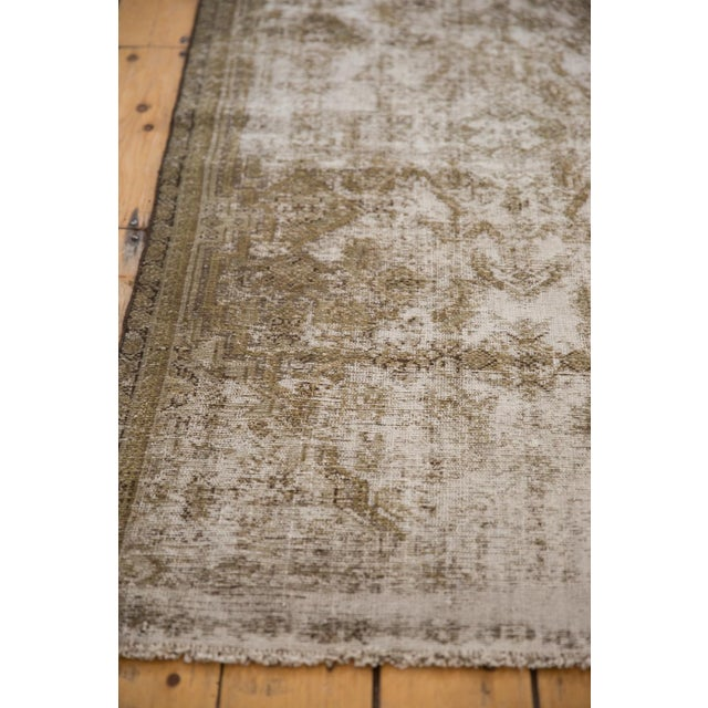 "Old New House Vintage Distressed Fragment Malayer Rug - 3'1"" X 5'1"" For Sale - Image 4 of 11"