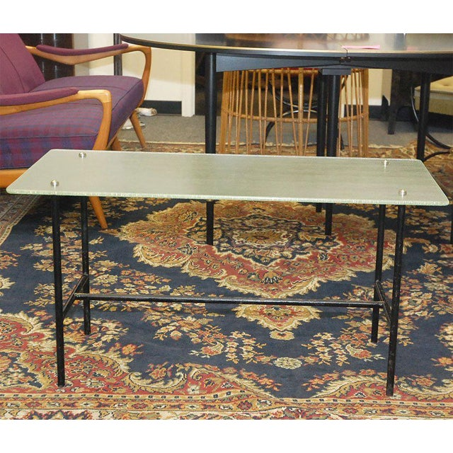 Black 1960s Coffee Table For Sale - Image 8 of 10