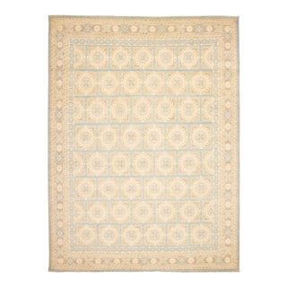 """Bohemian Hand-Knotted Rug 11'8"""" X 15'7"""" For Sale"""