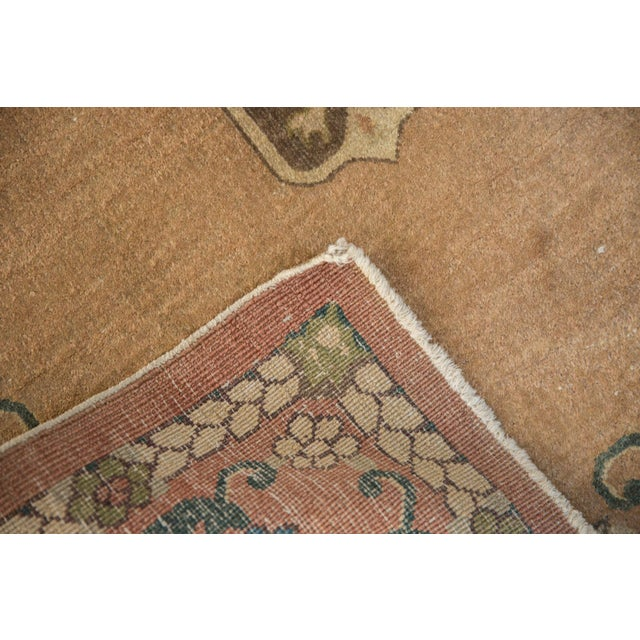 """Textile Vintage Chinese Rug - 3' X 4'10"""" For Sale - Image 7 of 10"""