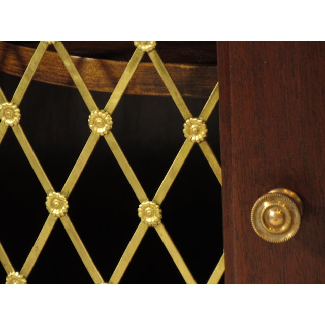 Regency Style Inlaid Mahogany Sideboard For Sale In Boston - Image 6 of 9