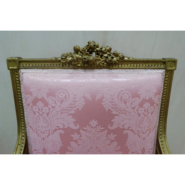 French Louis XVI Arm Chair - Image 3 of 4