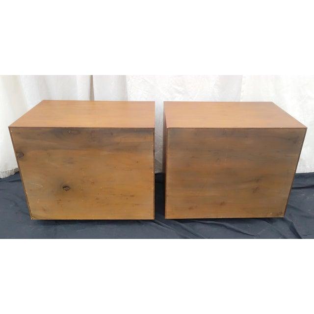 1970s 1970's Mid-Century Modern John Kapel for Glenn of California Side Tables/Nightstands - a Pair For Sale - Image 5 of 11