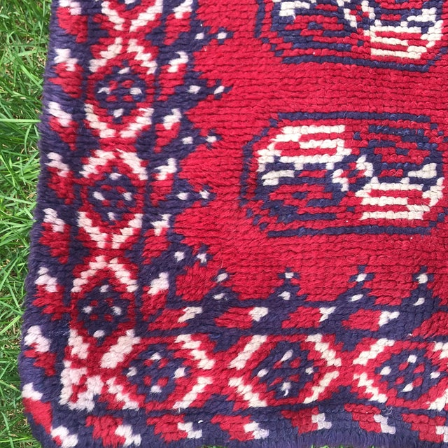 Boho Chic Vintage Rug- 3' × 5′8″ For Sale - Image 3 of 7