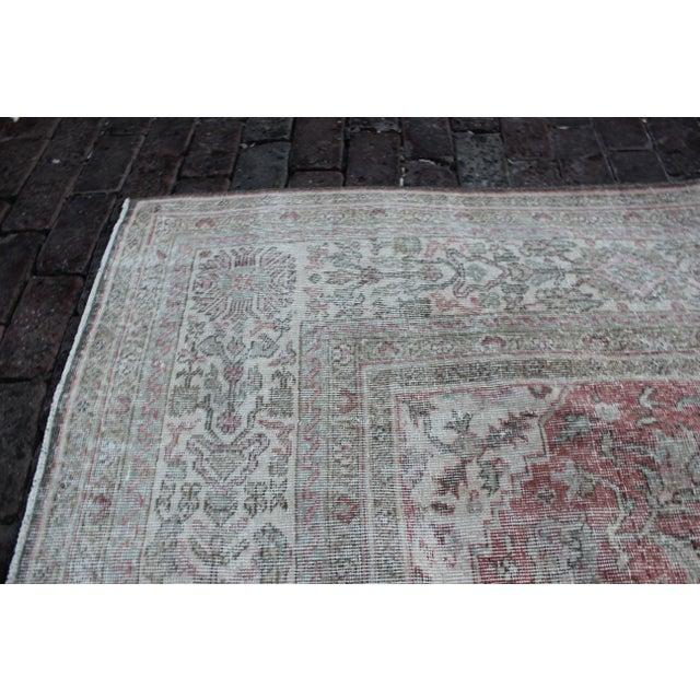 Vintage Sivas Turkish Wool Rug - 8 X 13 For Sale In Los Angeles - Image 6 of 8