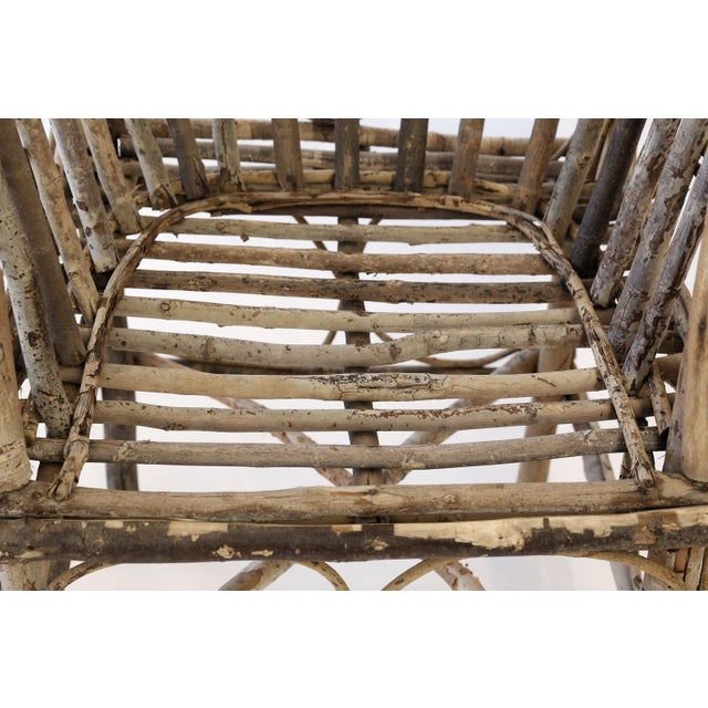 Tan Antique French Twig Chair For Sale - Image 8 of 13