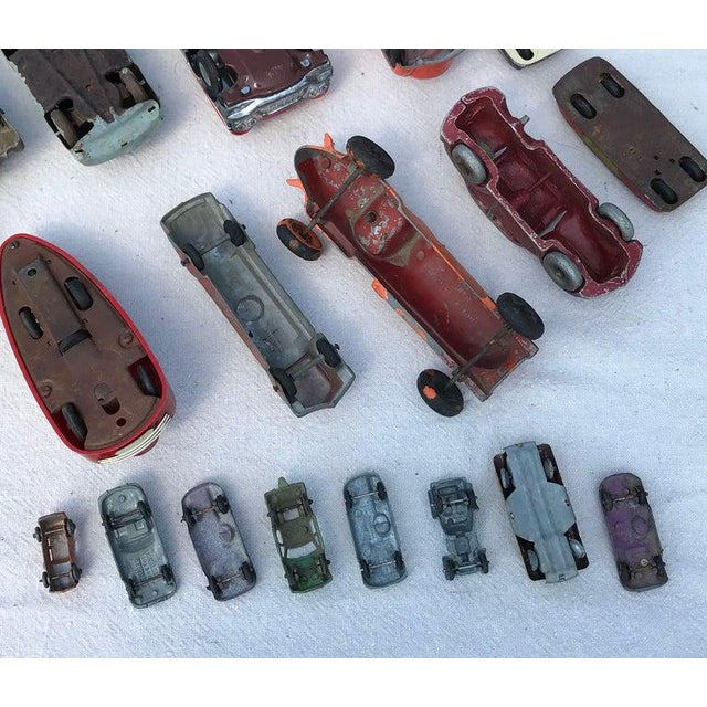 Red 1950s Vintage Toy Cars - 28 Pieces For Sale - Image 8 of 12