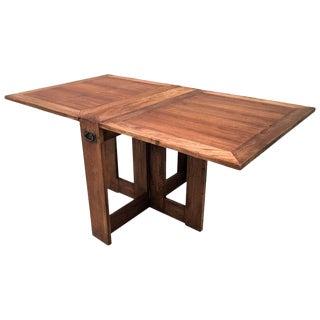 Mid Century Drop Leaf Gateleg Pembroke Table For Sale