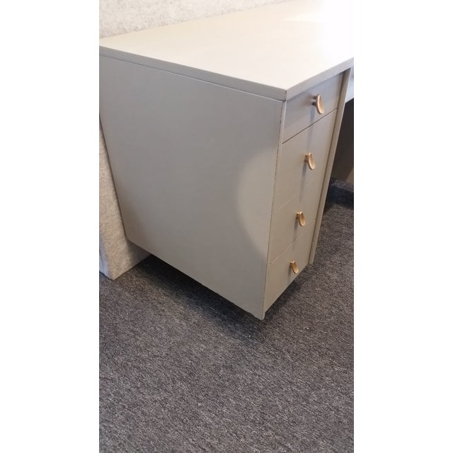 Mid-Century Modern Mid-Century Modern Sligh-Lowry Partner Desk For Sale - Image 3 of 10