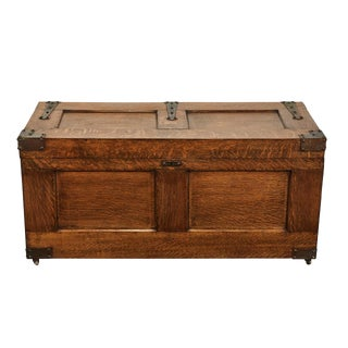 Arts & Crafts Trunk For Sale