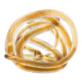 Image of Italian Twisted Murano Glass Sculpture For Sale