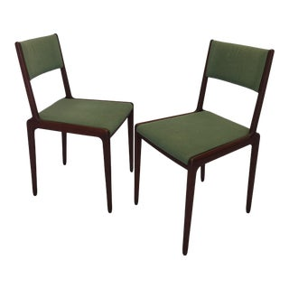 Italian Modern Sculptural Dining Chairs - A Pair