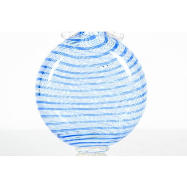 Art Nouveau Murano Glass Decorative Bud Vase For Sale - Image 3 of 5